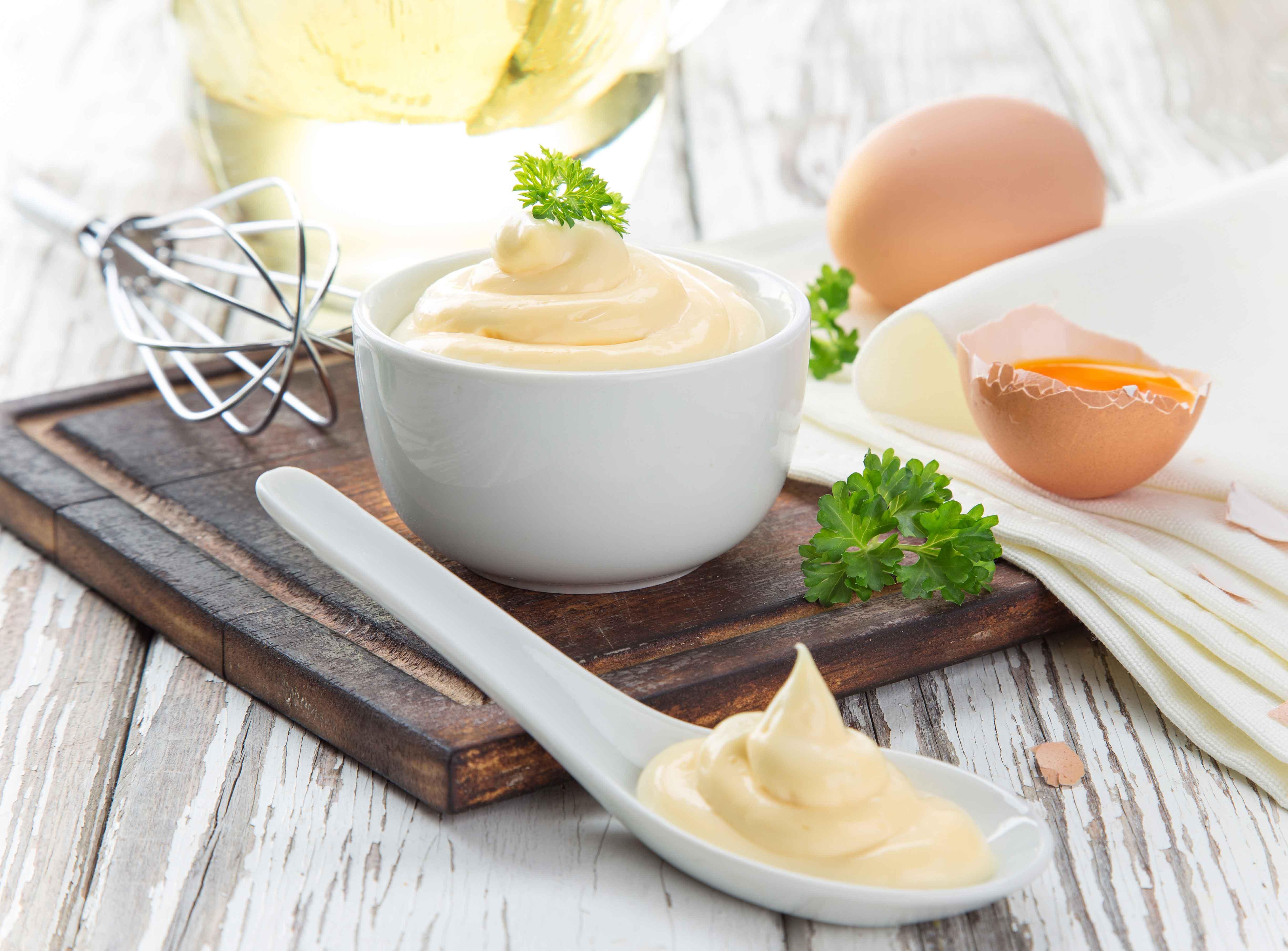 Keto huisgemaakte mayonaise basisrecept