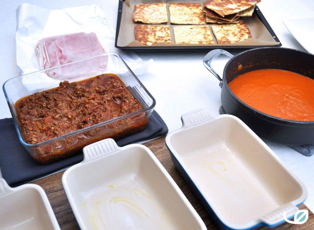 Keto lasagne ingrediënten