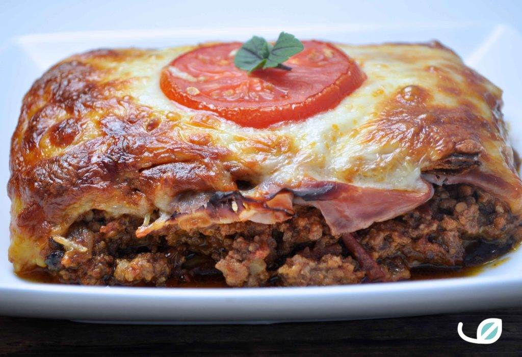 Keto lasagne bolognaise recept
