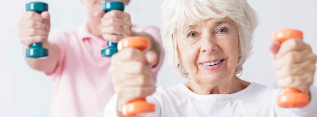 Beweging sport ouder worden