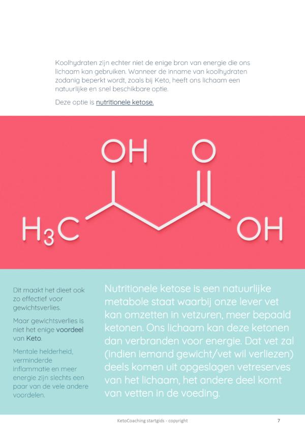 KetocoachingBelgium startgids nutritionele ketose