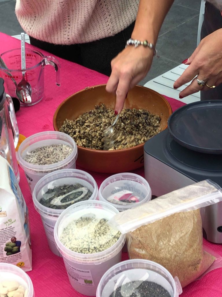 Keto Brunch workshop granola