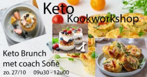 Keto kookworkshop brunch