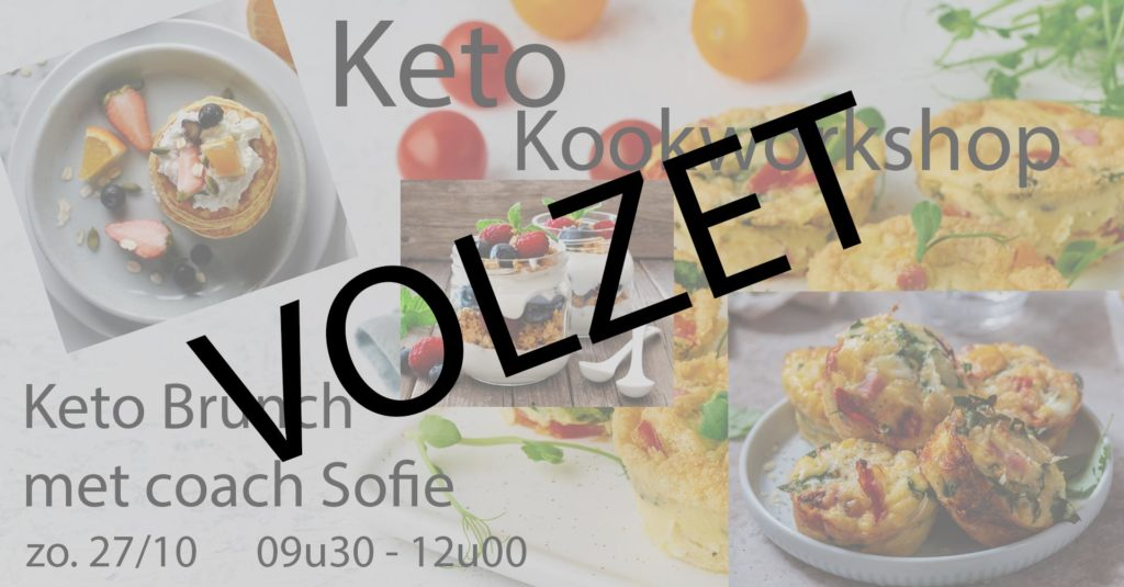 Keto kookworkshop brunch volzet