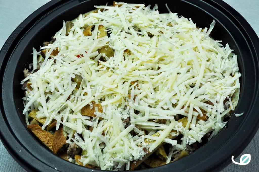 Keto mexicaanse tortilla schotel met parmezaan