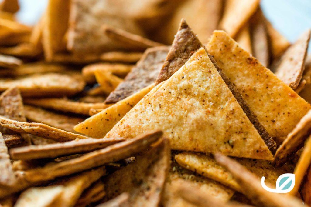 Keto Tortilla Chips - fathead Doritos