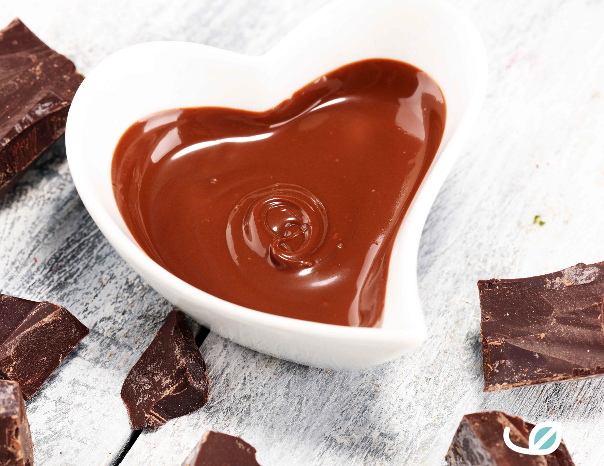 Keto huisgemaakte suikervrije chocoladesaus