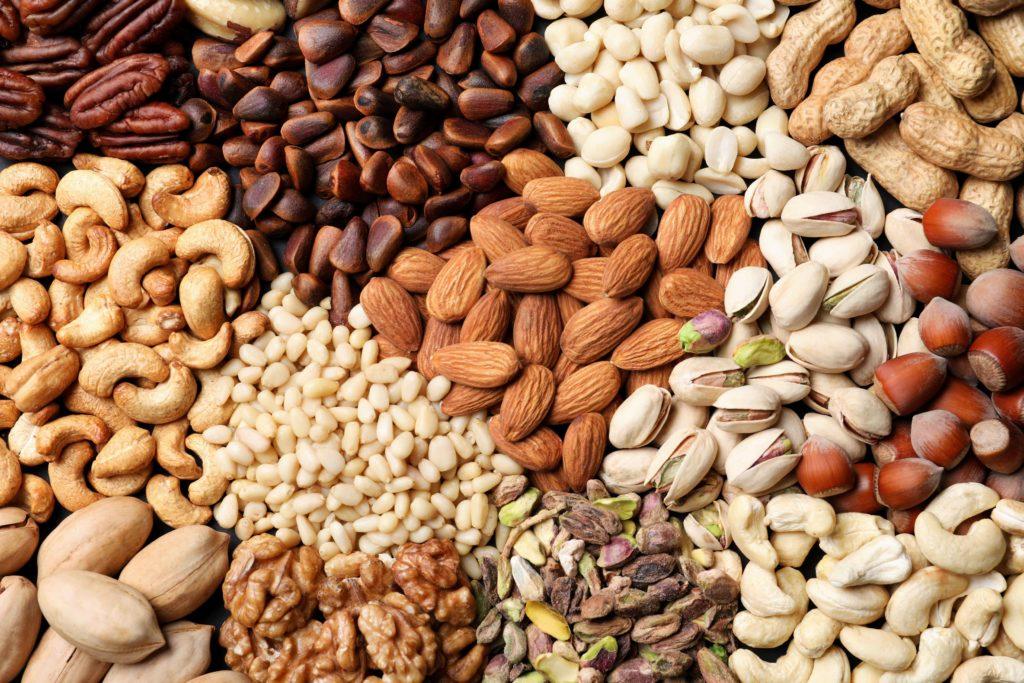 Keto noten pitten zaden