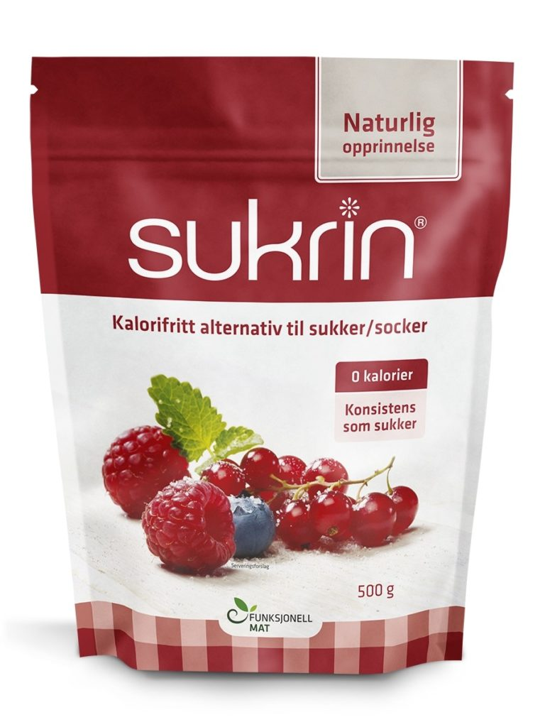 Sukrin erythritol
