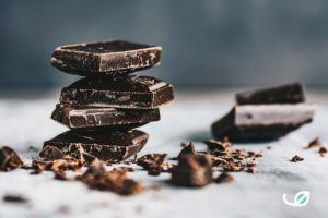 keto huisgemaakte chocolade reep recept