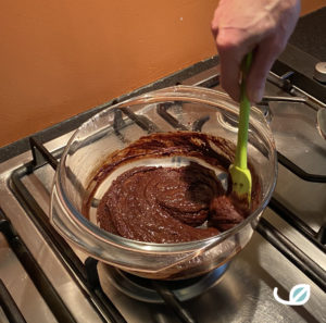 Keto chocolademousse