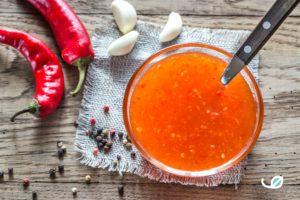 Keto huisgemaakte Suikervrije sweet chili saus