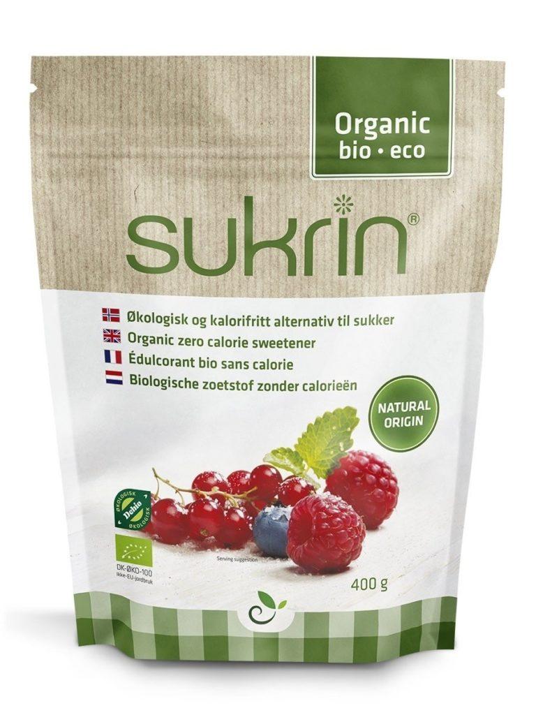 Sukrin Erythritol organic bio