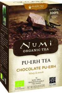 numi chocolate puerh thee met chocoladesmaak