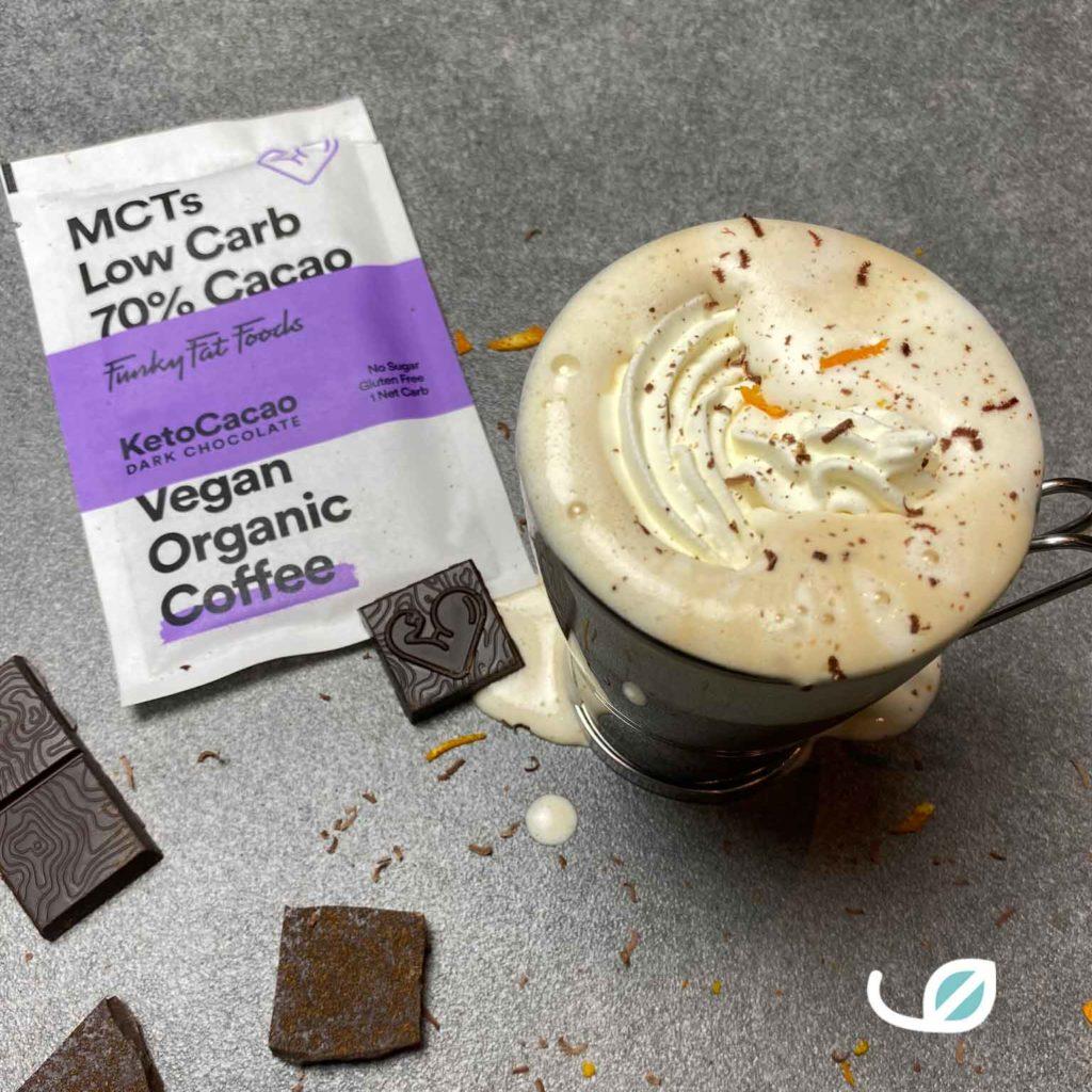 Ketocacao coffee chocolate orange koffie recept