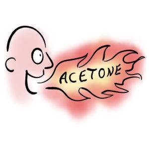 keto acetone breath