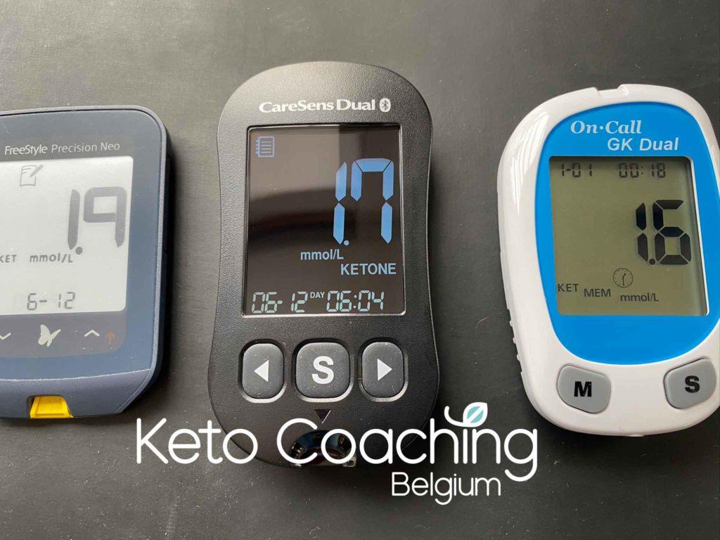 ketonen meting abbott precision Care Sens Dual on call GK Dual