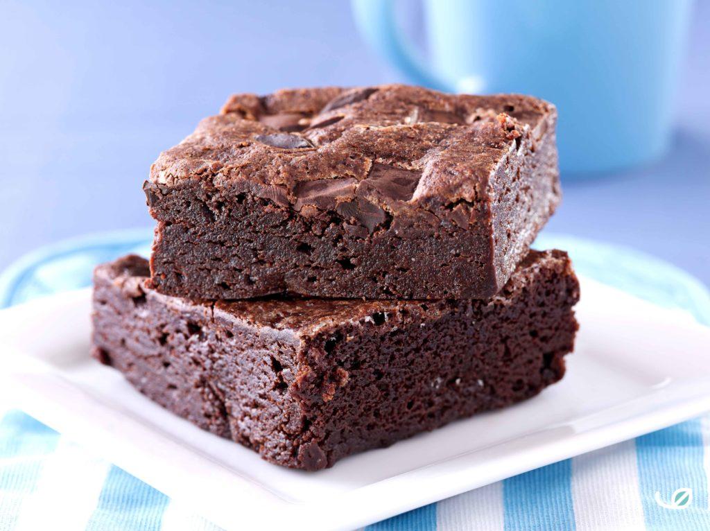 Keto Brownies suikervrij en glutenvrij