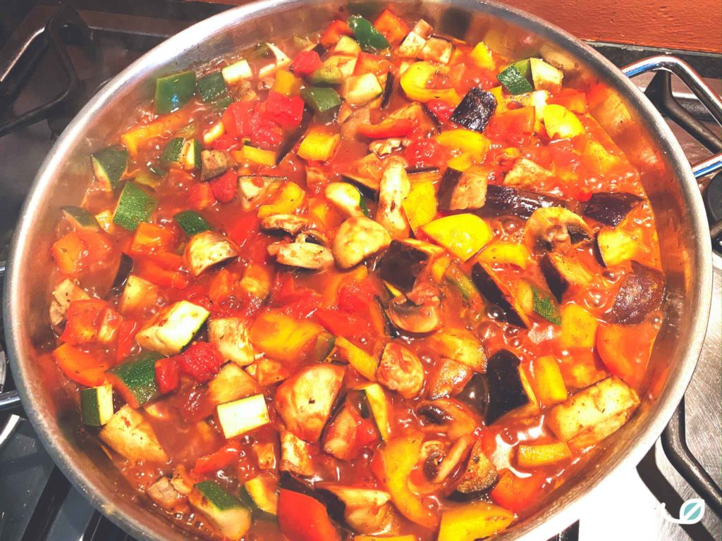 Keto Shakshuka groenten