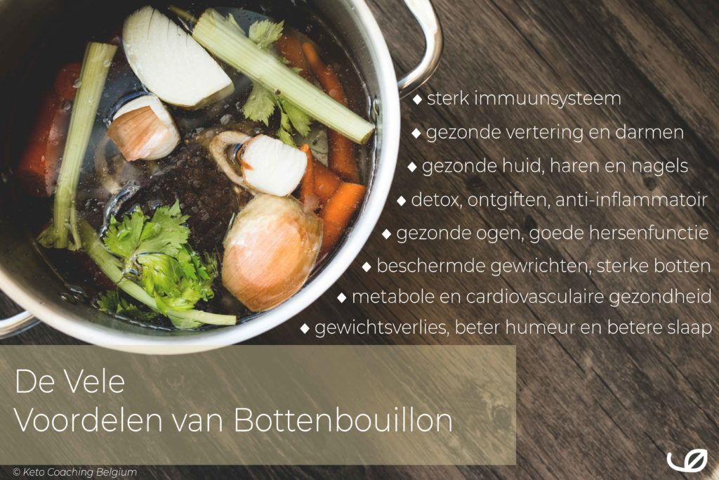 De vele voordelen van bottenbouillon bone broth