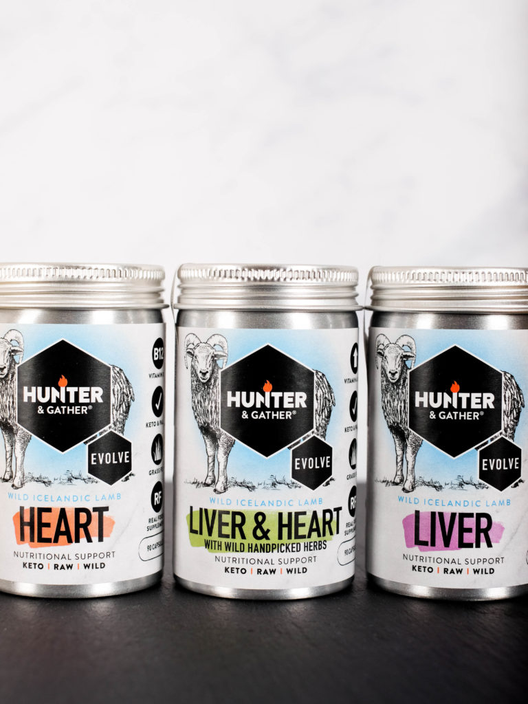 Hunter and Gather lever en hart capsules supplement