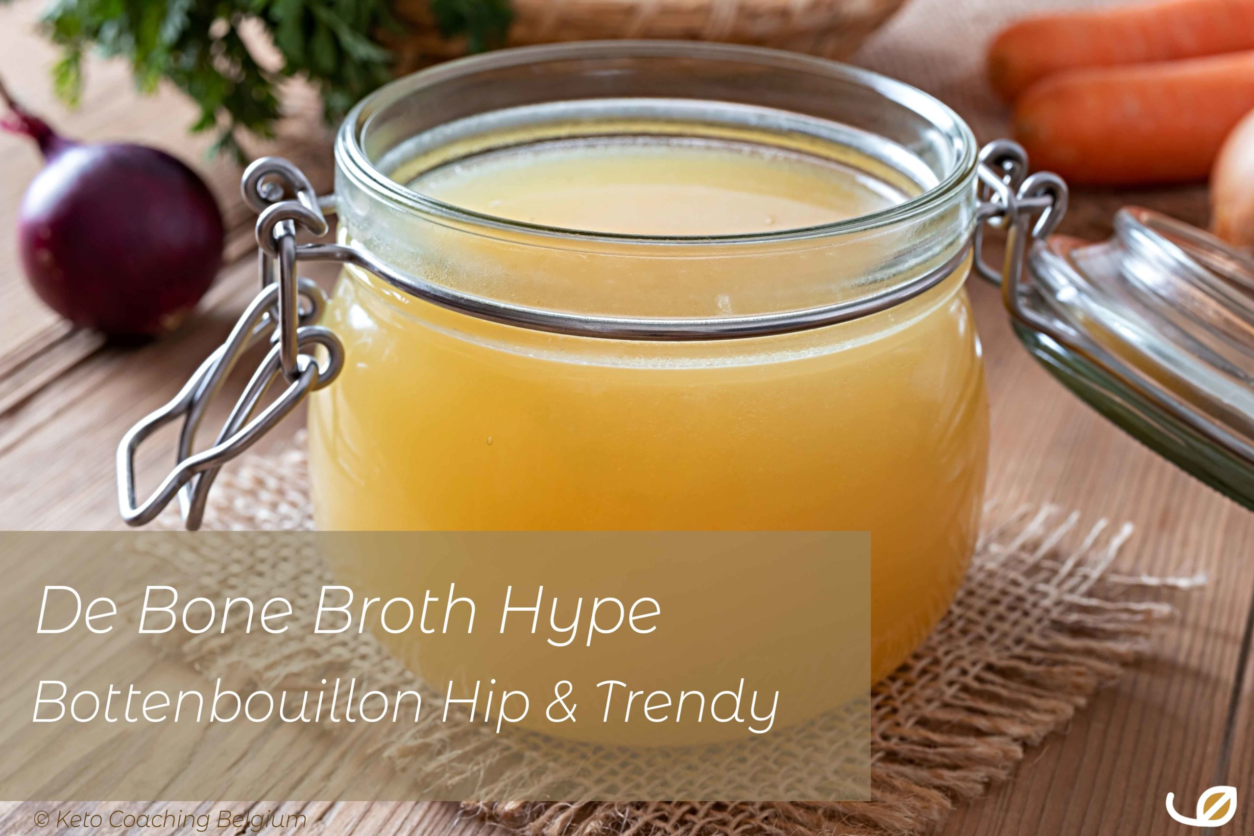 de Bone Broth Hype Bottenbouillon Hip en Trendy