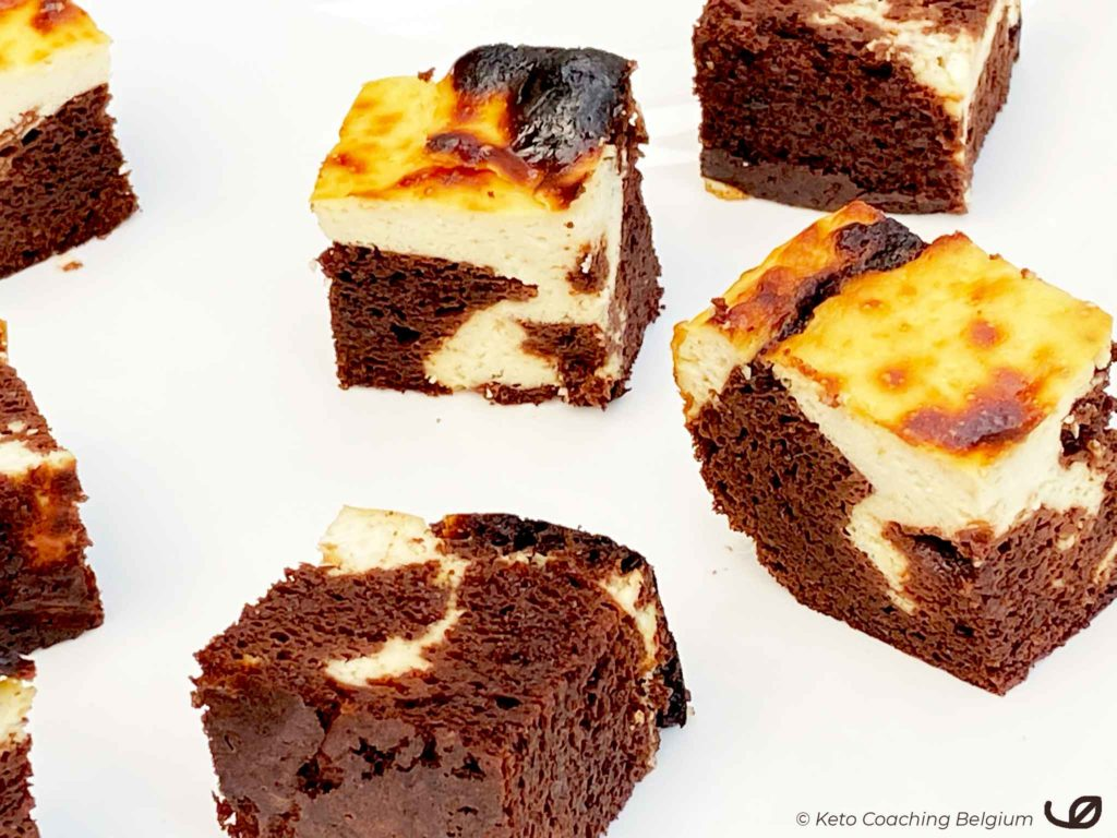 Keto Cream Cheese Brownies marmercake bites
