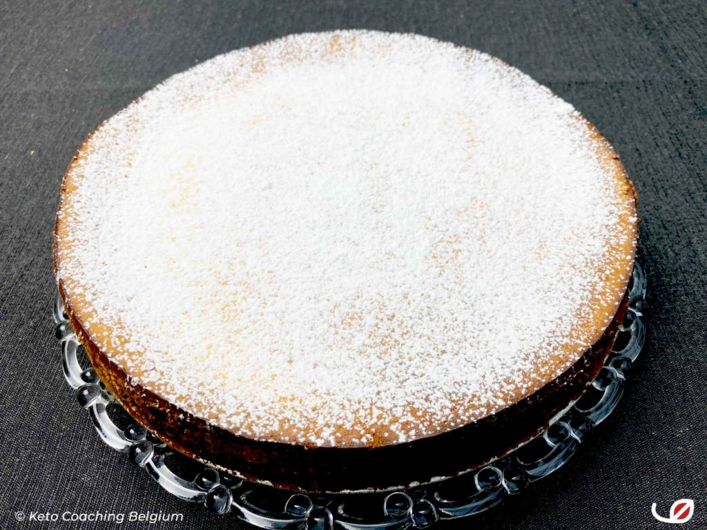 Keto en Low Carb Ricotta Cheesecake