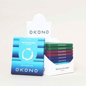 Okono variety pack chocolate keto chocolade pakket