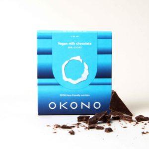Okono vegan milk chocolate keto chocolade