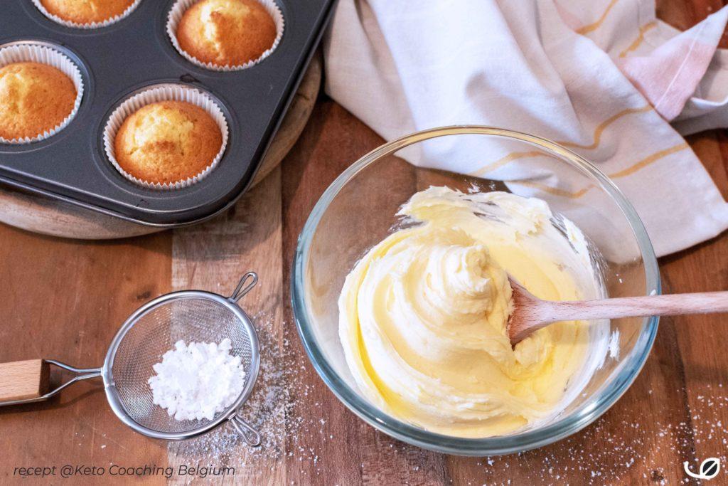 Keto koolhydraatarme en Suikervrije Crème au beurre