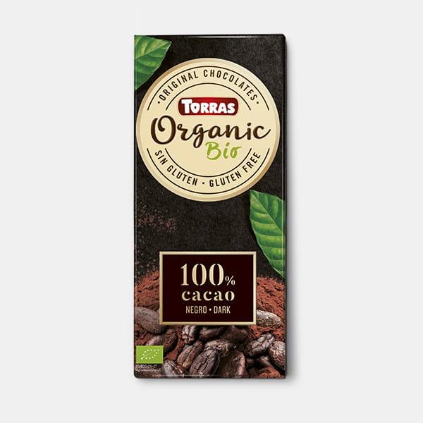 torras organic 100 cacao
