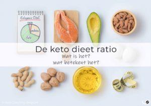 de keto dieet ratio uitgelegd - wat is het en wat betekent het