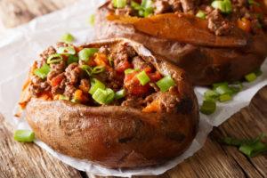 targeted keto natural food choice sweet potato