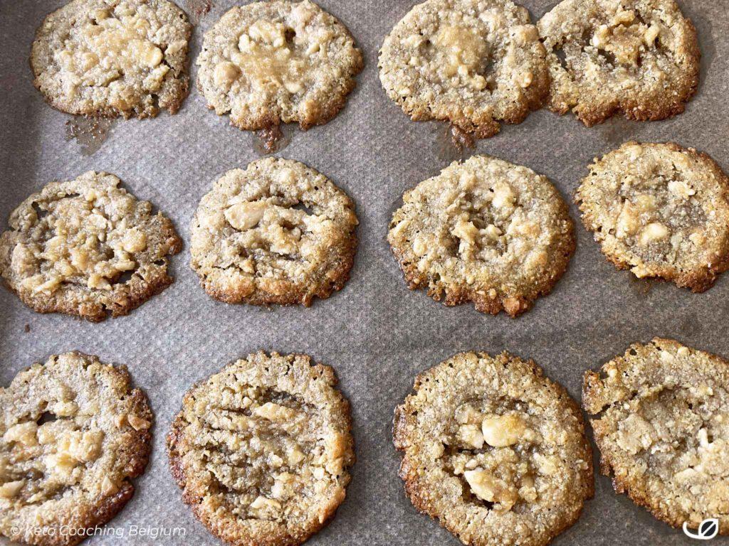 Keto kletskoppen suikervrije koolhydraatarme koekjes 1 ste bak
