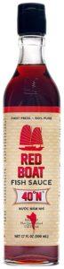 Red Boat fish sauce vissaus