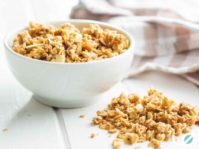 Keto Peanut butter coconut maple granola homemade