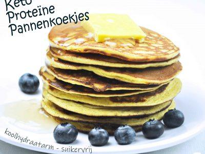 Keto Proteine Pannenkoek koolhydraatarm en suikervrij